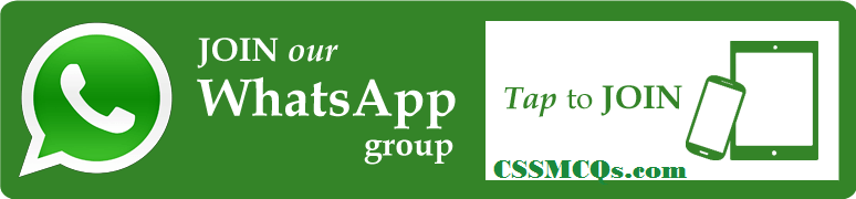 CSSMCQs join our whatsapp